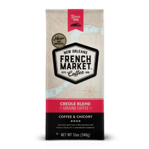 Creole Blend Ground Coffee & Chicory