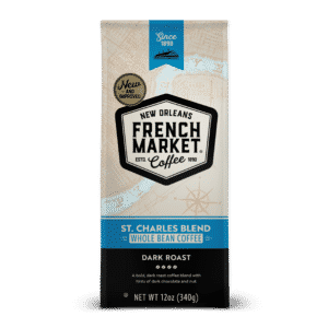 St. Charles Blend Dark Roast Whole Bean Coffee Bag