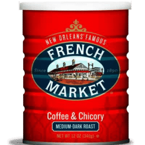 Medium-Dark Roast Ground Coffee & Chicory Can