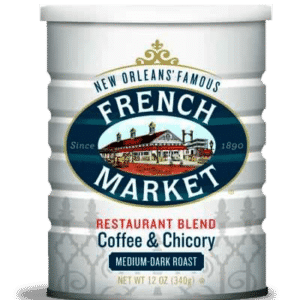 Medium-Dark Roast Ground Coffee & Chicory Restaurant Blend Can