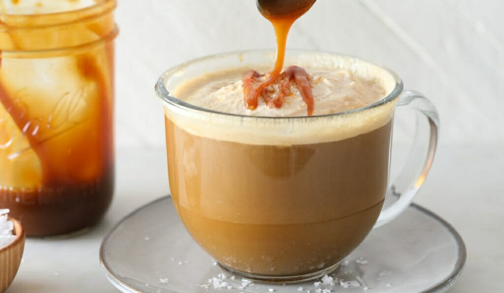Caramel Chicory Latte